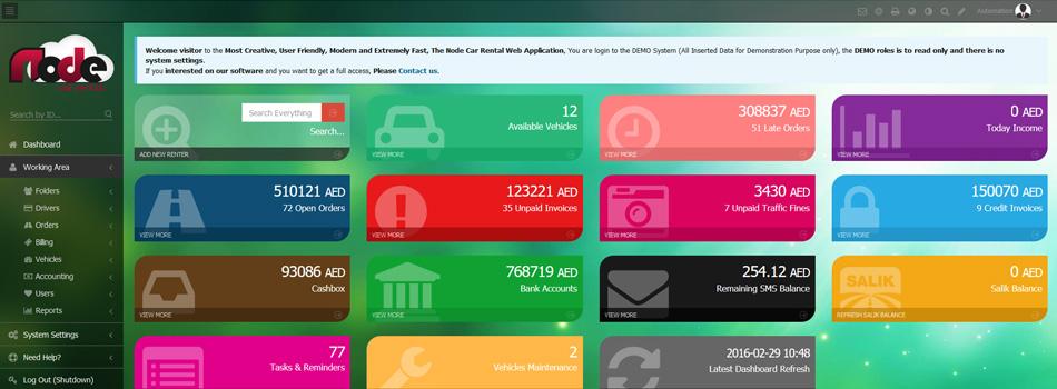 Car Rental System - Web Application